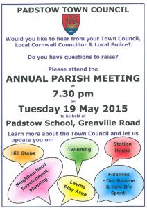 Annual Parish Meeting 2015