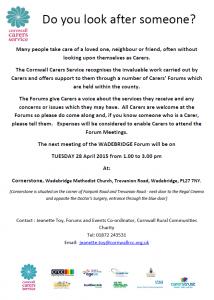 Cornwall Carers Service