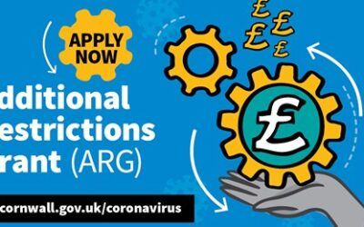 Cornwall Councils Additional Restrictions Grant (ARG) scheme – deadline 31 January