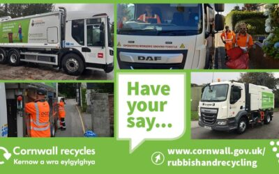 Cornwall Council -Rubbish, recycling, beach and street cleaning services survey